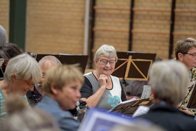 Der er meget vægt på det sociale i orkestret. Foto: Henrik Louis