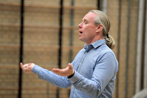 Dirigent Mogens B. Jensen. Foto: Henrik Louis