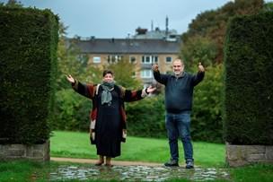 Dialog og demokrati: Ali og Karina inviterer til Nordjyllands største havefest