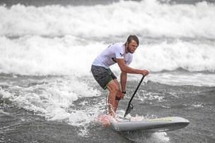 Vilde bølger: Steinfath sprintede sig til andenplads i uvejr