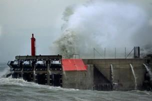 Vindstød af orkanstyrke i Nordjylland: Færger aflyses