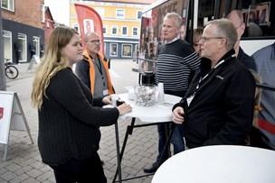 Se billederne: NORDJYSKEs bus besøgte i Hadsund