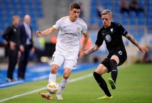 Mæhle med smuk assist i Europa League