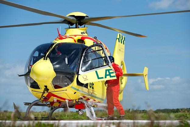DF-krav til helikopterlæger: De skal bo i Nordjylland