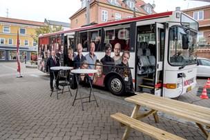 NORDJYSKE Bussen parkeret i Hadsund - kig forbi!