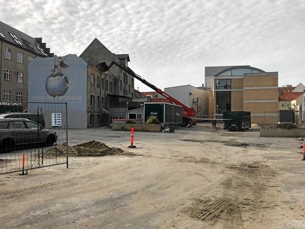 Nye boliger i teatrets baghave