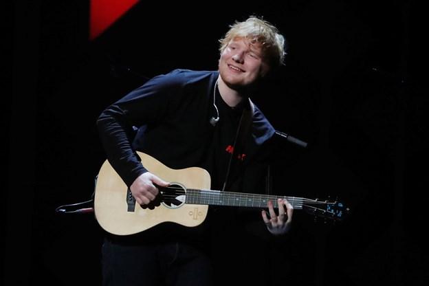 Ed Sheeran synger næste sommer i Danmark