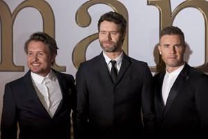 Det britiske boyband Take That spiller koncert i KB Hallen i København den 21. juni 2019.