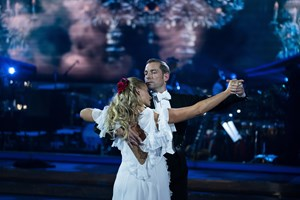 """Fredag aften måtte sæsonens andet par tage afsked i """"Vild med dans""""."""