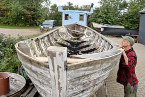 Båd skal være taget til søens nye madpakkehus