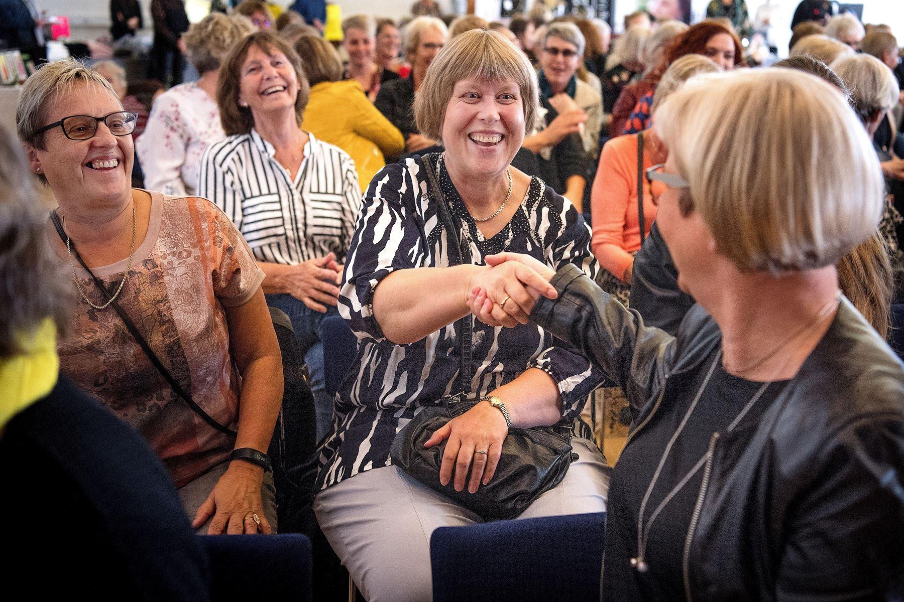 140 deltog i den femte Kvinde- og Venindedag i Hadsund Kulturcenter