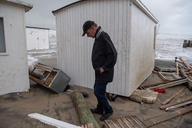 Strandfoged om smadrede badehuse: Jeg har aldrig set noget lignende
