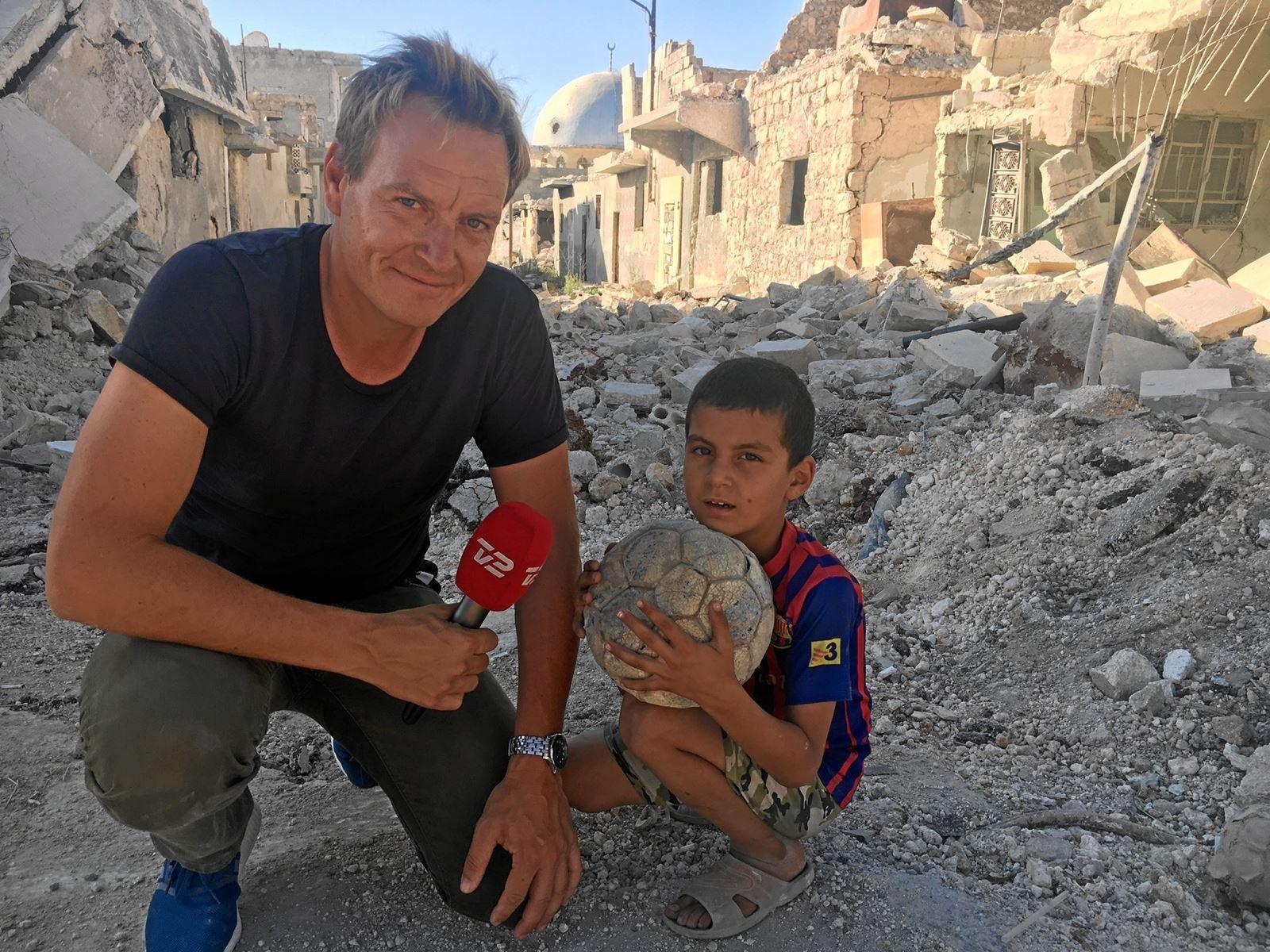 Rasmus Tantholdt ville have været lykkelig for et fast job i Holstebro, men da han blev sendt til Irak, ændrede det hans liv