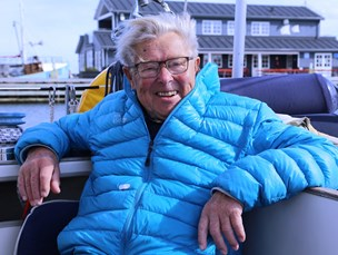 90-årig norsk sejler besøger Læsø hvert år: - I de 40 år, jeg er kommet, er der sket en kæmpe forandring
