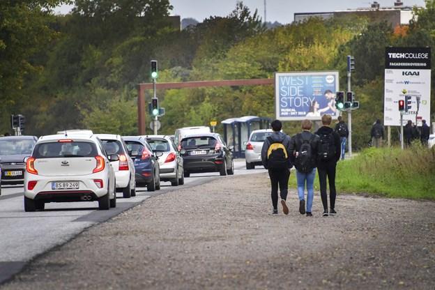 Farlig trafik: - Spørgsmål om tid, før det går grueligt galt