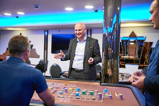 Casiono Aalborg har været gennem en større ombygning, og har udvidet åbningstiderne, fortæller direktør Thomasn Byrdal. Privatfoto