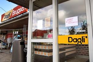 Skar hul i tag på Dagli' Brugs: Tyve gik efter pengeskab