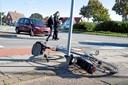 78-årig cyklist i livsfare: Blev ramt af bil
