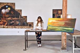 Til minde om Peninna: Kunsten var hendes dagbog