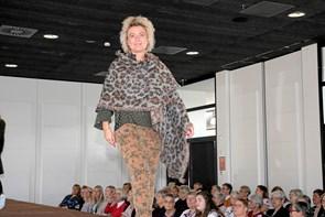 Modeshow var velbesøgt