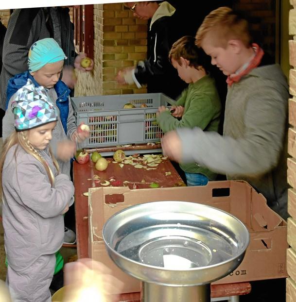 Æblets Dag i Naturskolen