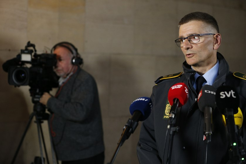 Politiet holder kortene tæt til kroppen i forbindelse med den store aktion, der påvirker store dele af landet.