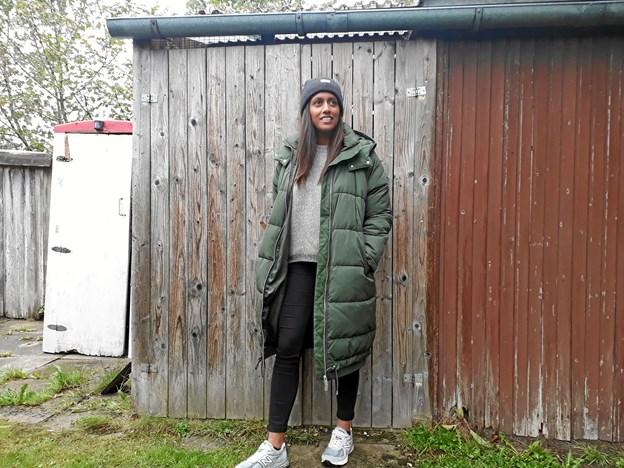 Ida Rekha glæder sig til næste marked, hvor der vil være plads til efterårsmoden. Privatfoto