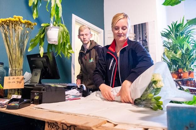 Afskårne blomster er noget af det, ejerne satser på, kunderne vil gå efter.