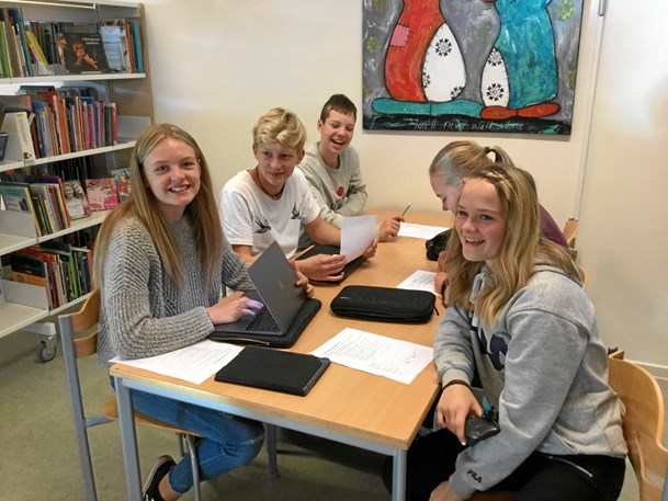 Norsk besøg på Havbakkeskolen