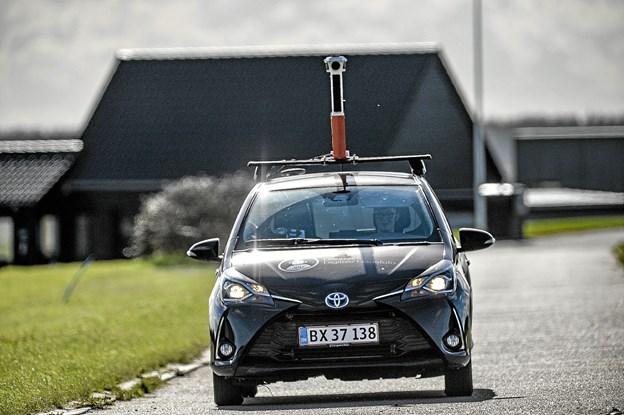 Cowi gennemfotograferer alle 102.000 km danske veje hvert andet år. Næste gang er i sommeren 2020. Foto: Ole Iversen