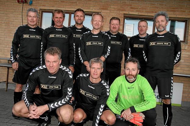 Frøstrup/Hannæs blev nummer 2. efter Jetsmark IF. Foto: Flemming Dahl Jensen