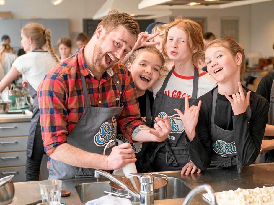 Børn skal bage grønne pizzaer i Astrup