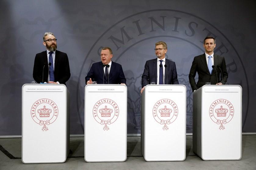 København skal have en ny bydel og en ny havnetunnel. Det siger statsminister Lars Løkke Rasmussen (V)