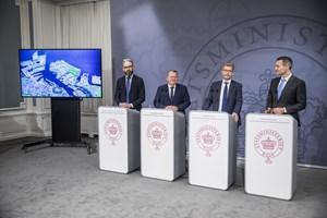 Regeringen og Københavns Kommune er blevet enige om en række byudviklingsprojekter i hovedstaden.