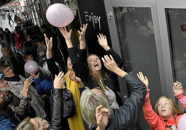 Ballon-amok på Store Torv