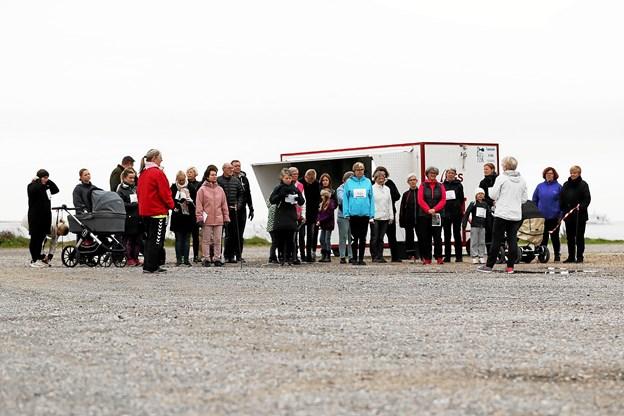 Der var start og mål ved søsportscentret i Hals. Foto: Martine Mortensen Skov Foto: Allan Mortensen