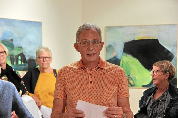 Bent Søgaard holdt åbningstalen. Foto: Hans B. Henriksen