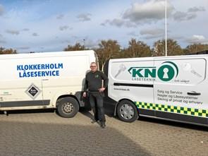 KN Låseteknik har overtaget Klokkerholm Låseservice
