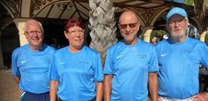 På tenniscamp i Tyrkiet