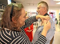 Gratis vaccination mod influenza