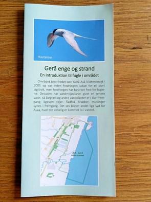 Ny folder om fuglelivet i Geraa