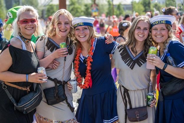 Hvis karneval fortsætter med at vokse i samme takt som nu, vil det i 2022 være større end Roskilde Festival. Arkivfoto: Andreas Falck