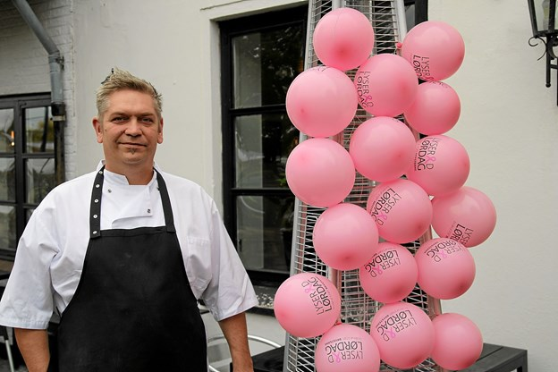 Søren Hansen fra Fjerritslev Kro er også med til at støtte op om arrangementet. Foto: Flemming Dahl Jensen