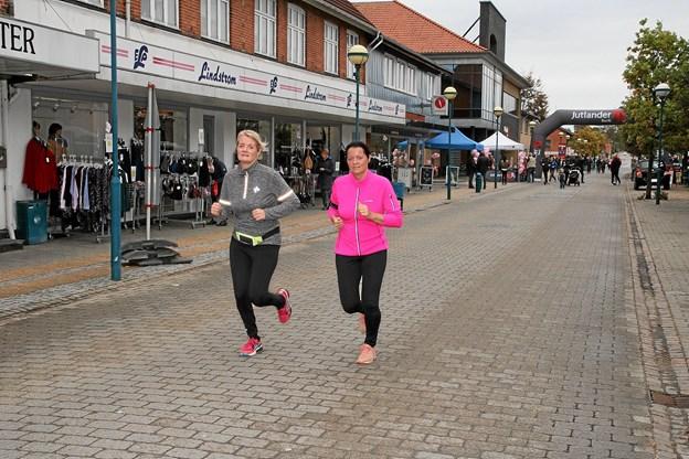 Der blev løbet og gået 398 omgange. Foto: Flemming Dahl Jensen
