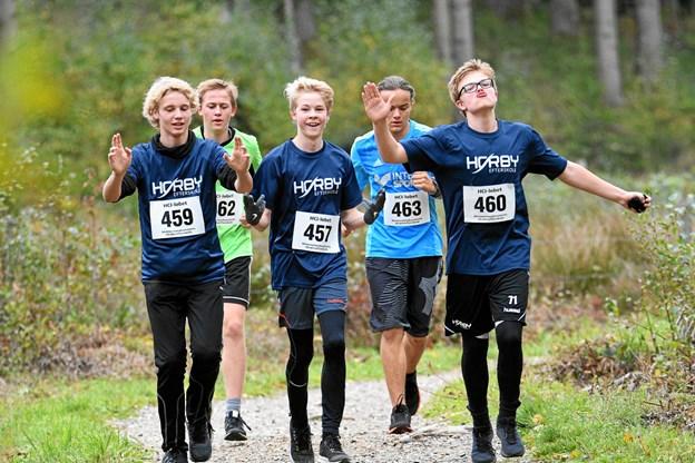 Himmerlandscentrets Idrætsefterskole HCI har igen i år stået som arrangør af de Nordjyske Mesterskaber i løb for efterskoleelever.