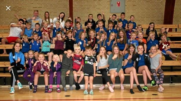 Ikke færre end 53 børn deltog.Foto: Martin Frandsen