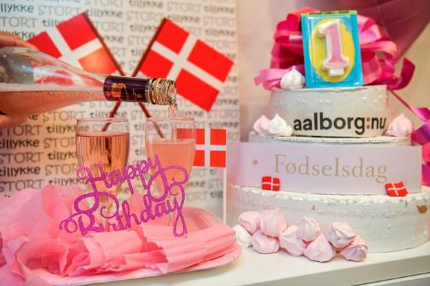 Hip, hip og så det lange - aalborg:nu kan fejre sin allerførste fødselsdag. Arkivfoto: Claus Søndberg