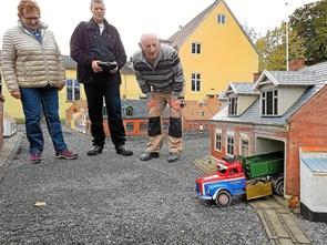Lastbilræs i Thisted Lilleby