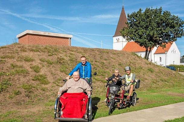 På cykeltur i kørestol