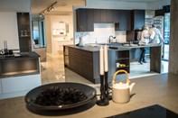 Køkkenbutik med ny indretning og udstilling